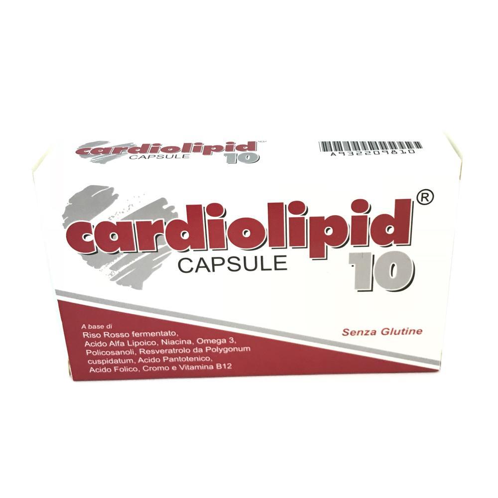 CARDIOLIPID 10 - INTEGRATORE NATURALE IN GRADO DI NORMALIZZARE IL COLESTEROLO