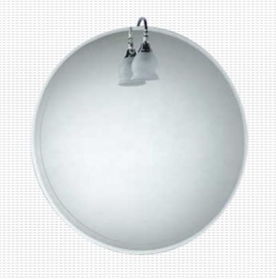 Specchio filo lucido per il bagno cm 60 Caos