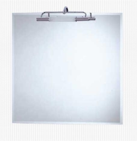 Specchio filo lucido per il bagno cm 60 x 60 Caos