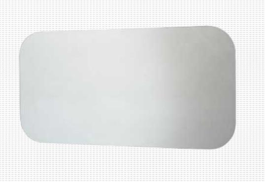 Specchio filo lucido per il bagno cm 90 x 60 Caos
