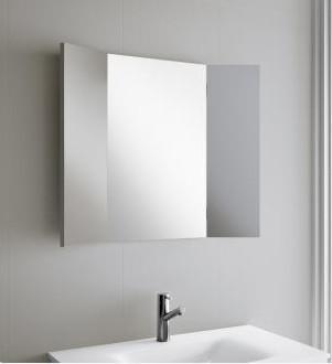 Specchio per il bagno Trio 800 Salgar con ante laterali mobili ...
