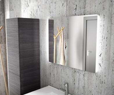 Specchio per il bagno Candem 800 Salgar