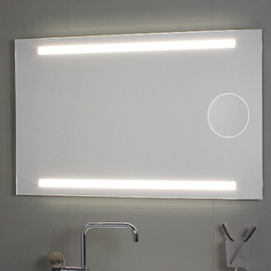 Specchio per il bagno cm 100 X 80 Okkio Koh i Noor
