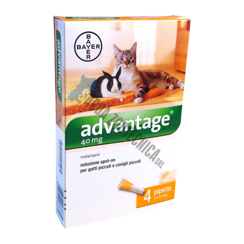 ANTIPARASSITARIO ADVANTAGE SPOT-ON GATTI