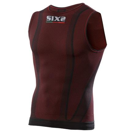 SMANICATO CARBON UNDERWEAR SMX SIXS COLORE DARK RED