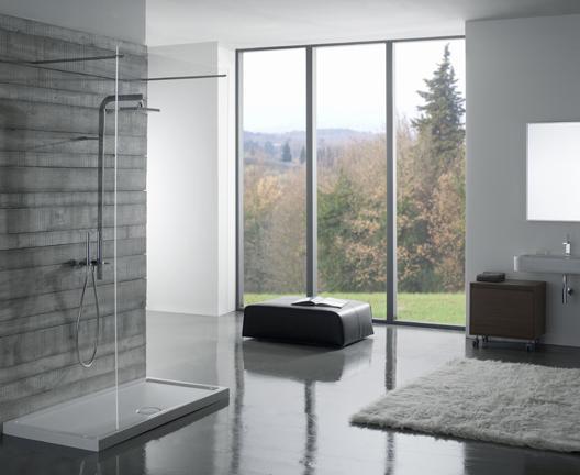 Piatto doccia per il bagno cm 120 x 80 Docciabella Globo