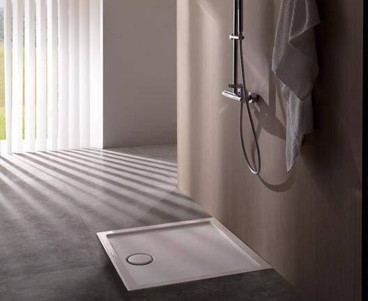 Piatto doccia per il bagno cm 90 x 90 Docciabella Globo