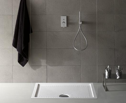 Piatto doccia per il bagno cm 100 x 80 Docciaviva Globo