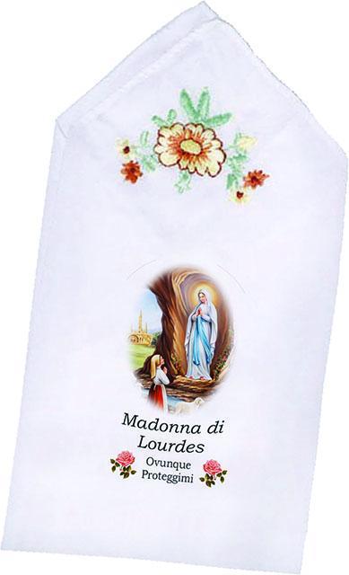 Fazzoletto Madonna di Lourdes
