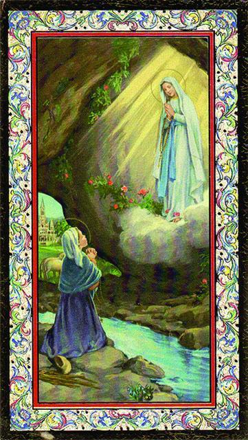 Immagine Madonna di Lourdes (100 pz)