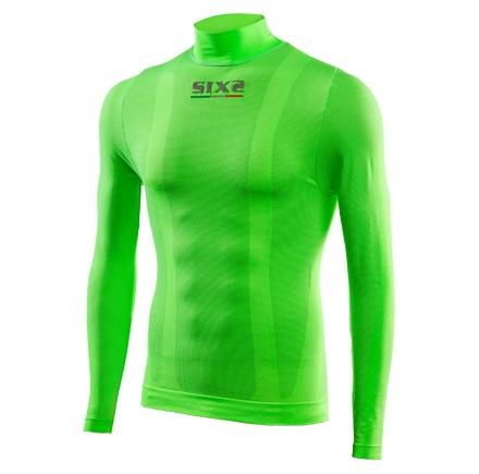 LUPETTO COLOR MANICHE LUNGHE SIXS TS3 C GREEN FLUO