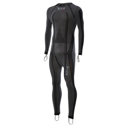 SOTTOTUTA MOTO INTEGRALE RACING CARBON UNDERWEAR SIXS STX R BLACK CARBON