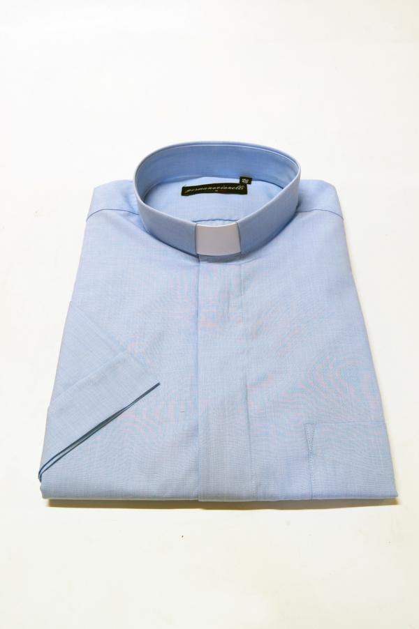 Camicia Clergy – Fil à Fil – Mezza manica