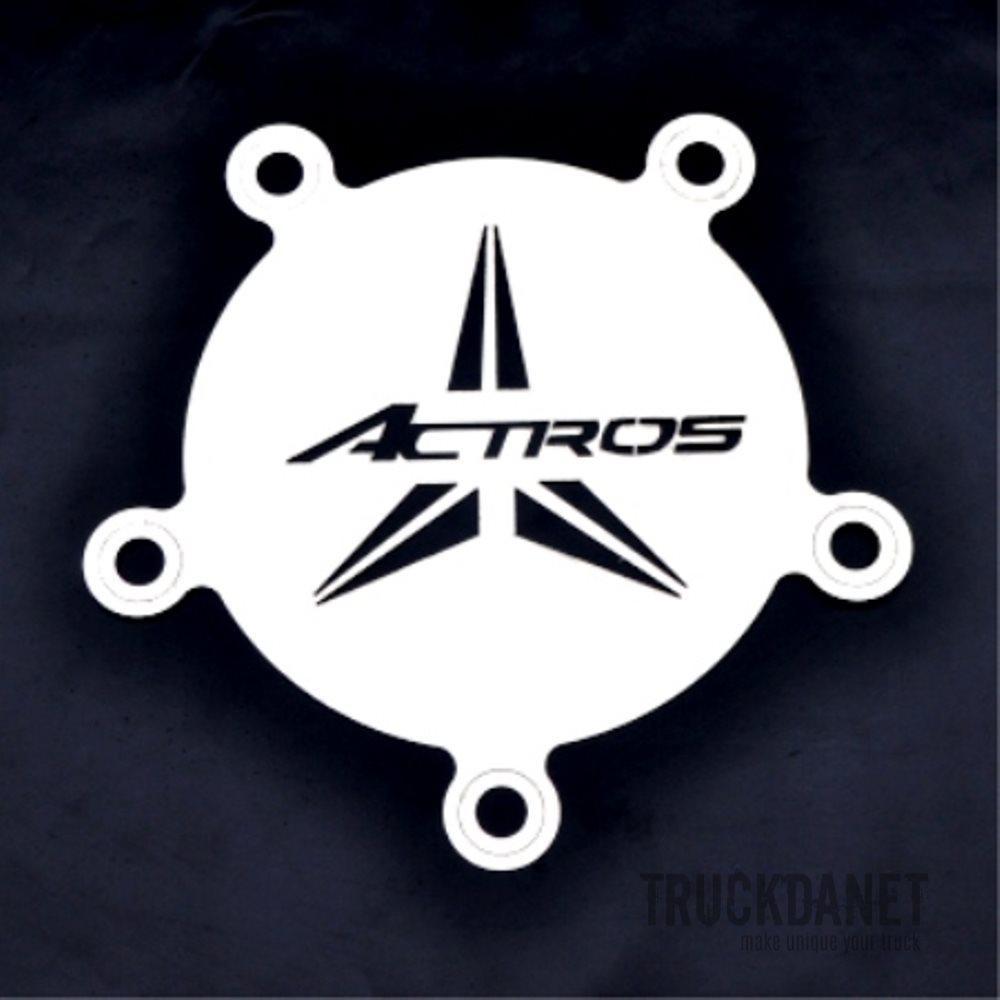 MERCEDES Coprimozzo anteriore con scritta Actros