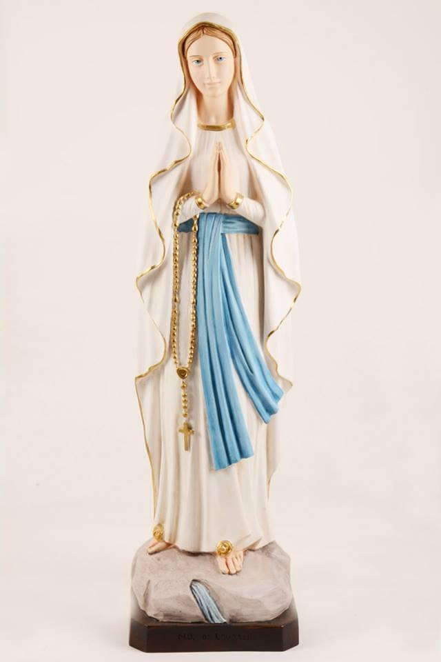 Statua Madonna di Lourdes in resina h. 80 PASQPA907