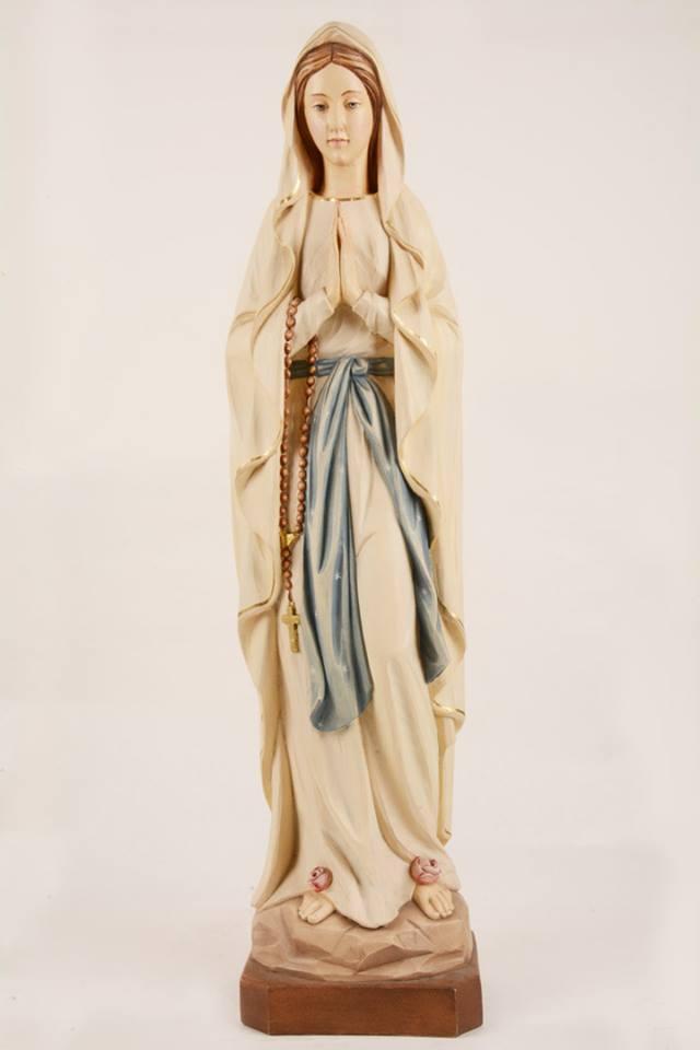Statua Madonna di Lourdes in vetroresina DOL19302-80 h. 80
