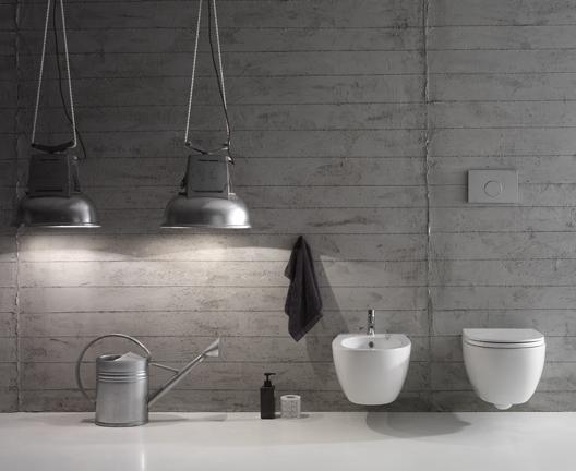 Vaso e bidet sospeso per il bagno cm 54 x 36 4All Globo
