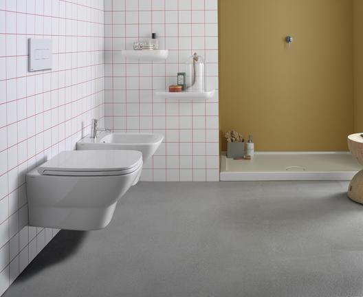 Vaso e bidet sospeso per il bagno cm 53 x 37 Daily Globo