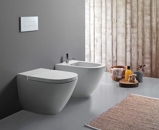 Bidet a terra per il bagno cm 58 x 37 Stockholm Globo
