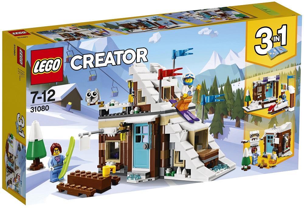 LEGO CREATOR VACANZA INVERNALE MODULARE 31080
