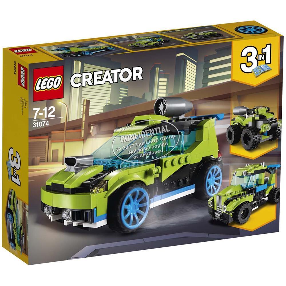 LEGO CREATOR AUTO DA RALLY ROCKET 31074