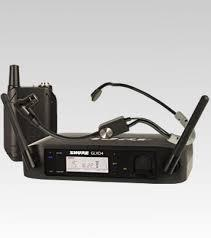 RADIOMICROFONO SHURE GLXD14ESM35 HEADSET DIGITALE