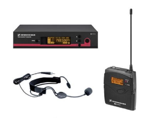 RADIOMICROFONO SENNHEISER HEADSET EW152 G3 GX