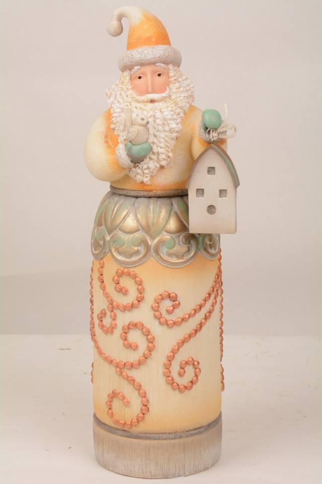 Jim Shore River's End Santa With Birdhouse 4048059