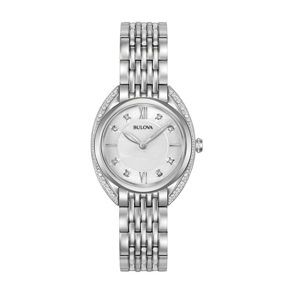 BULOVA-Orologio da donna con diamanti