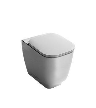 Vaso a terra per il bagno cm 54 x 35,5 Fusion Hatria