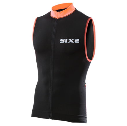 SMANICATO BICI SIXS BIKE2 STRIPES BLACK ORANGE