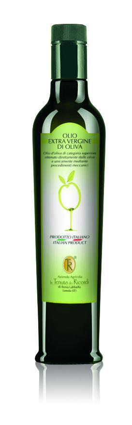 Olio extravergine di oliva STANDARD da 500 ml
