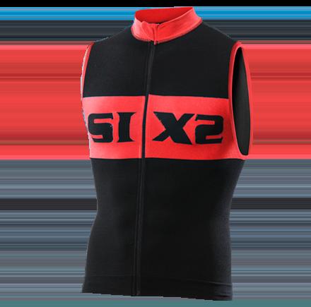 SMANICATO BICI SIXS BIKE2 LUXURY BLACK RED