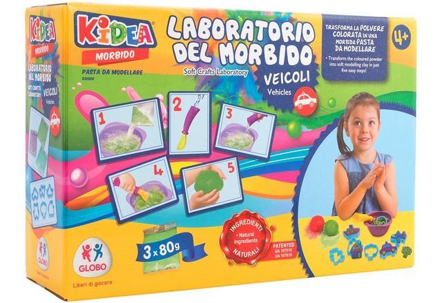 CREA MORBIDO TRUEDOUGH 3X80GR/6FORM 38340 GLOBO