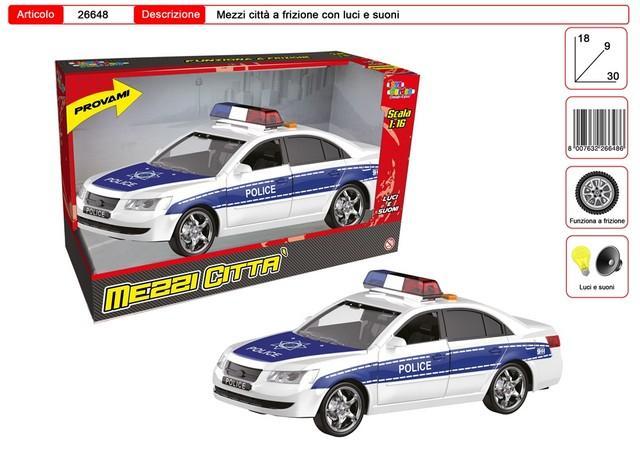 AUTO POLIZIA 26648 TOYS GARDEN