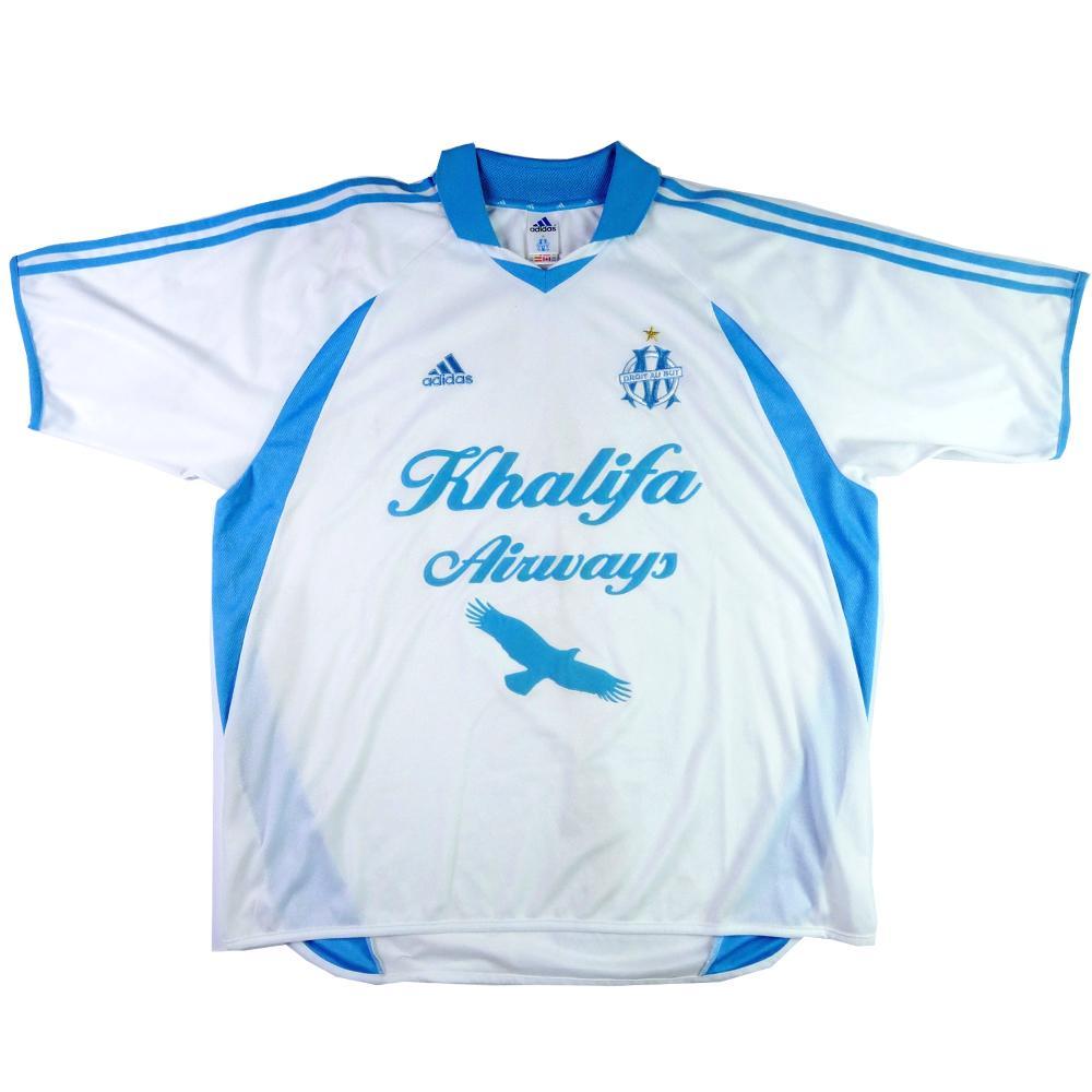 2001-02 Olympique Marseille Maglia Home XXL (Top)