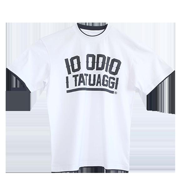 T-shirt oversize bordi contrasto IO ODIO I TATUAGGI Oversize
