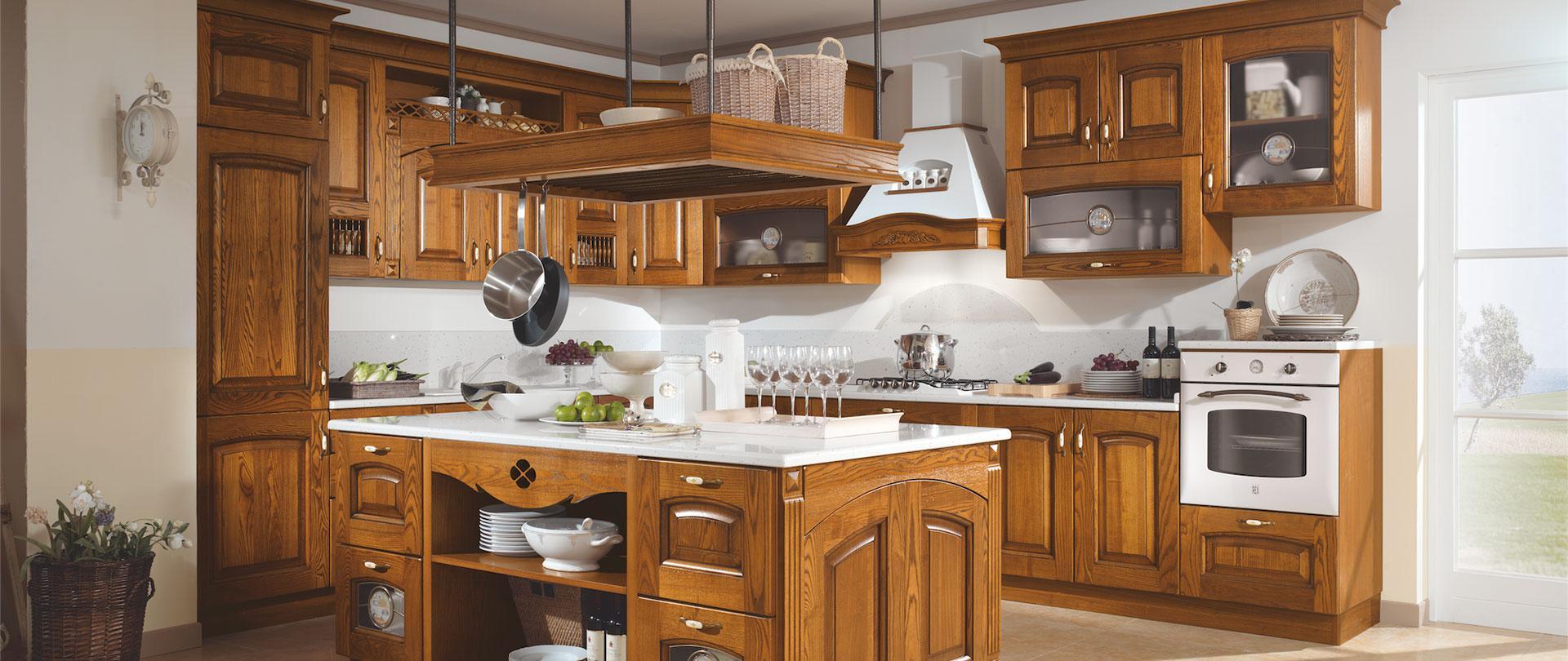 Cucine componibili classiche Arredomente | ARREDOMENTE srl