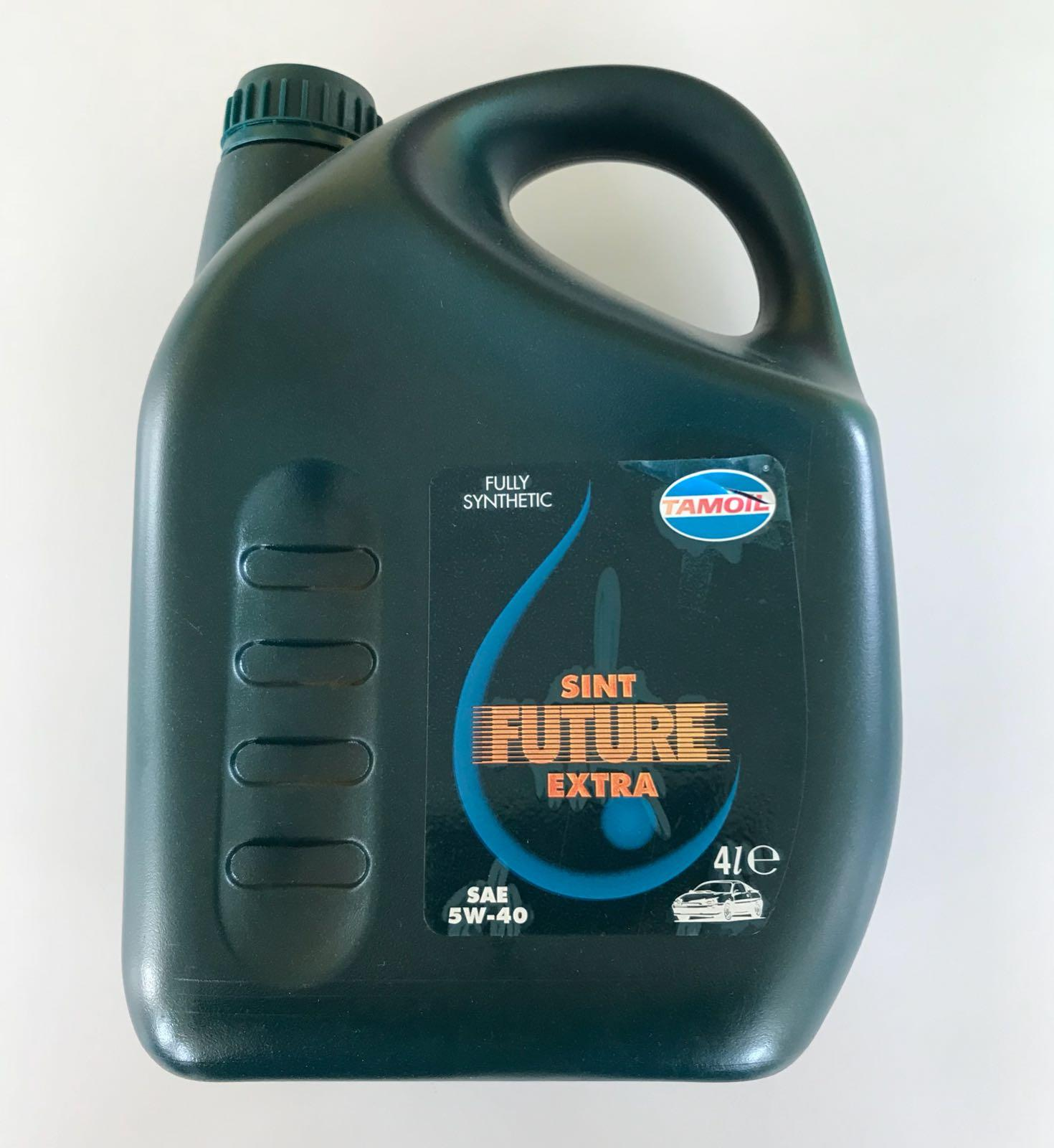 Tamoil Sint Future Extra SAE 5W/40 barattolo 4 Litri
