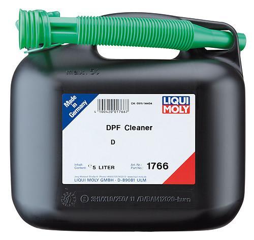 Liqui Moly 1766 DPF Cleaner pulizia filtro antiparticolato tanica 5 Litri
