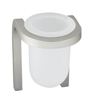 Bicchiere in vetro acidato per il bagno serie Stick Koh i noor
