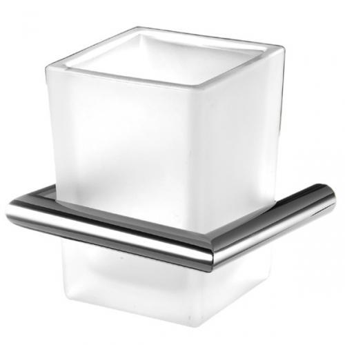 Bicchiere a parete per il bagno 3SC serie Guy