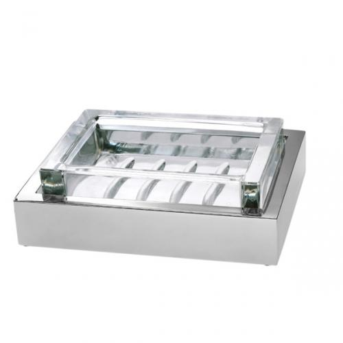 Porta sapone da appoggio per il bagno 3SC serie Sk