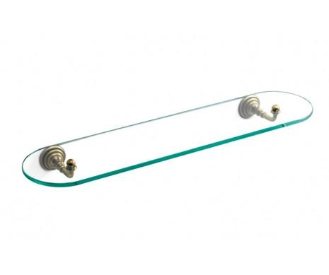 Mensola in cristallo per il bagno Victoria 3sc