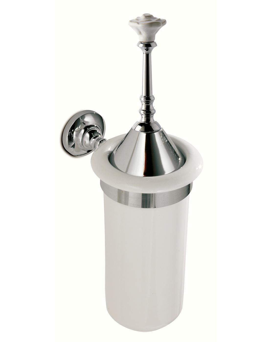 Porta scopino a parete per il bagno Rosy 3sc