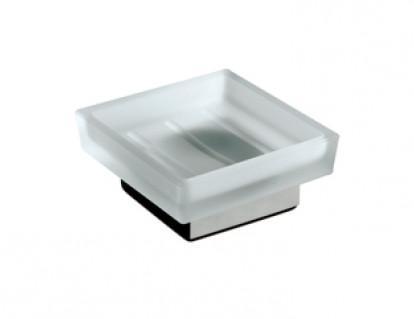 Porta sapone da appoggio per il bagno serie Cuir 3SC