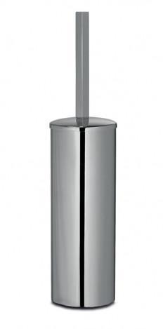 Porta scopino sospeso per il bagno serie Cuir 3SC