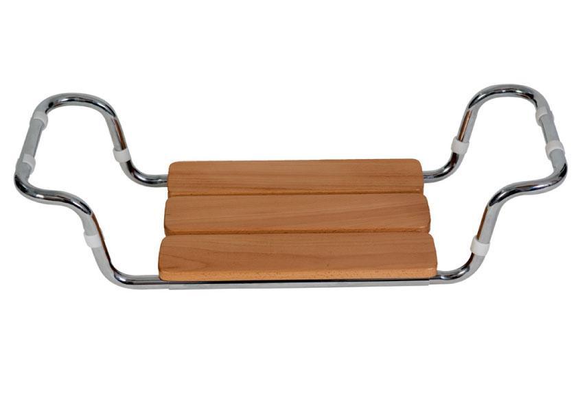 Sedile per vasca in legno