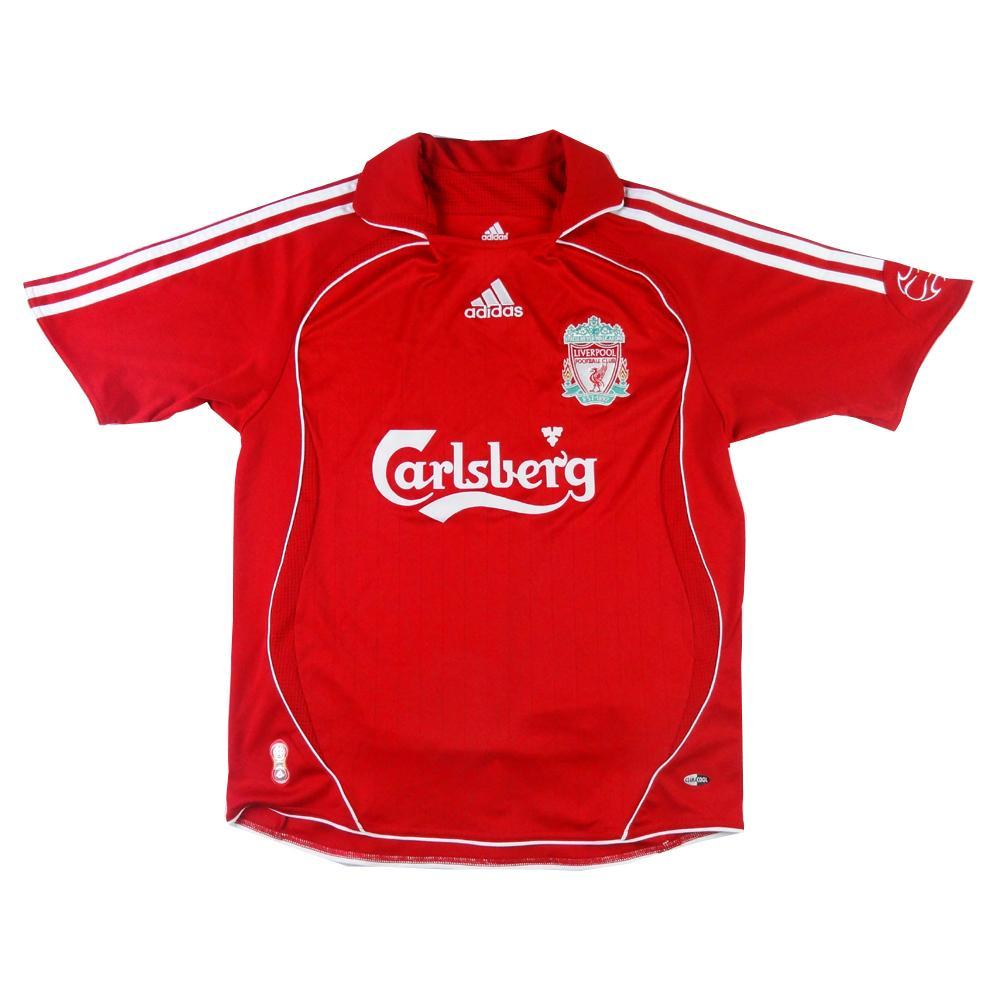 2006-08 Liverpool MAGLIA Home L.Ragazzo (Top)