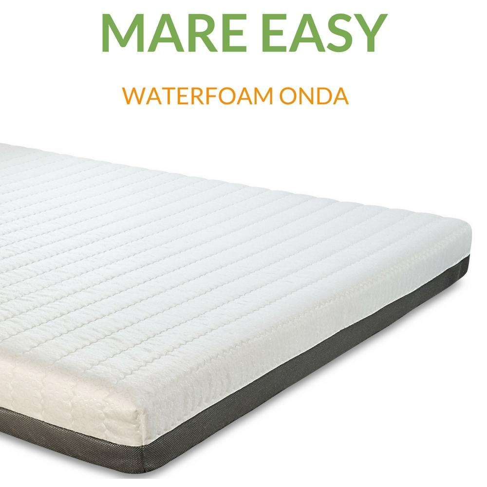 Materasso In Waterfoam H18 Ad Onda Ortopedico Sfoderabile